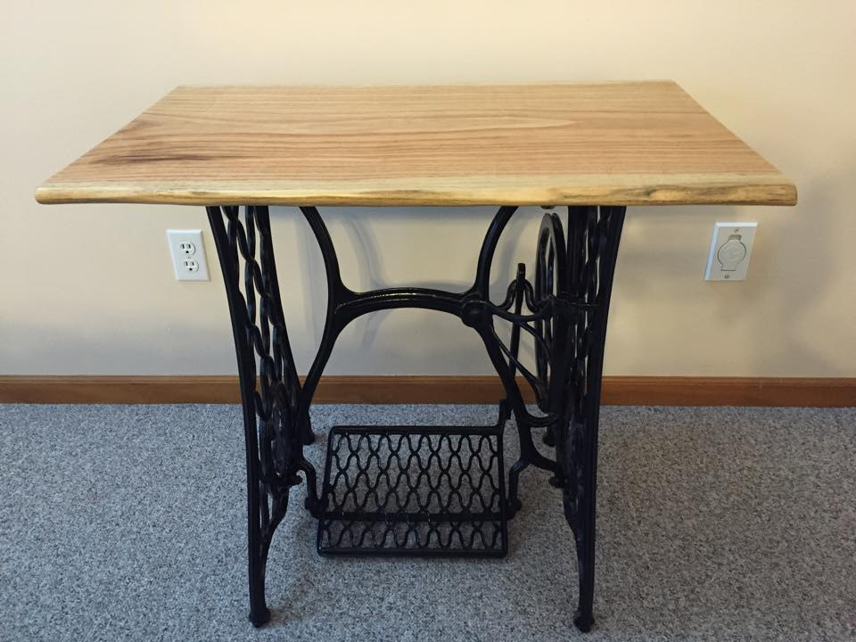 Project feature singer sewing machine table top urban lumber company watchthetrailerfo