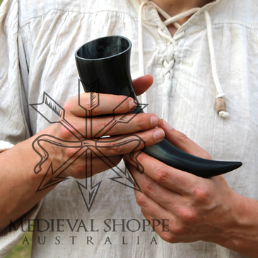 Small Nordic Drinking Horn