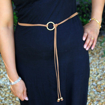 Female Cord Ring Belt