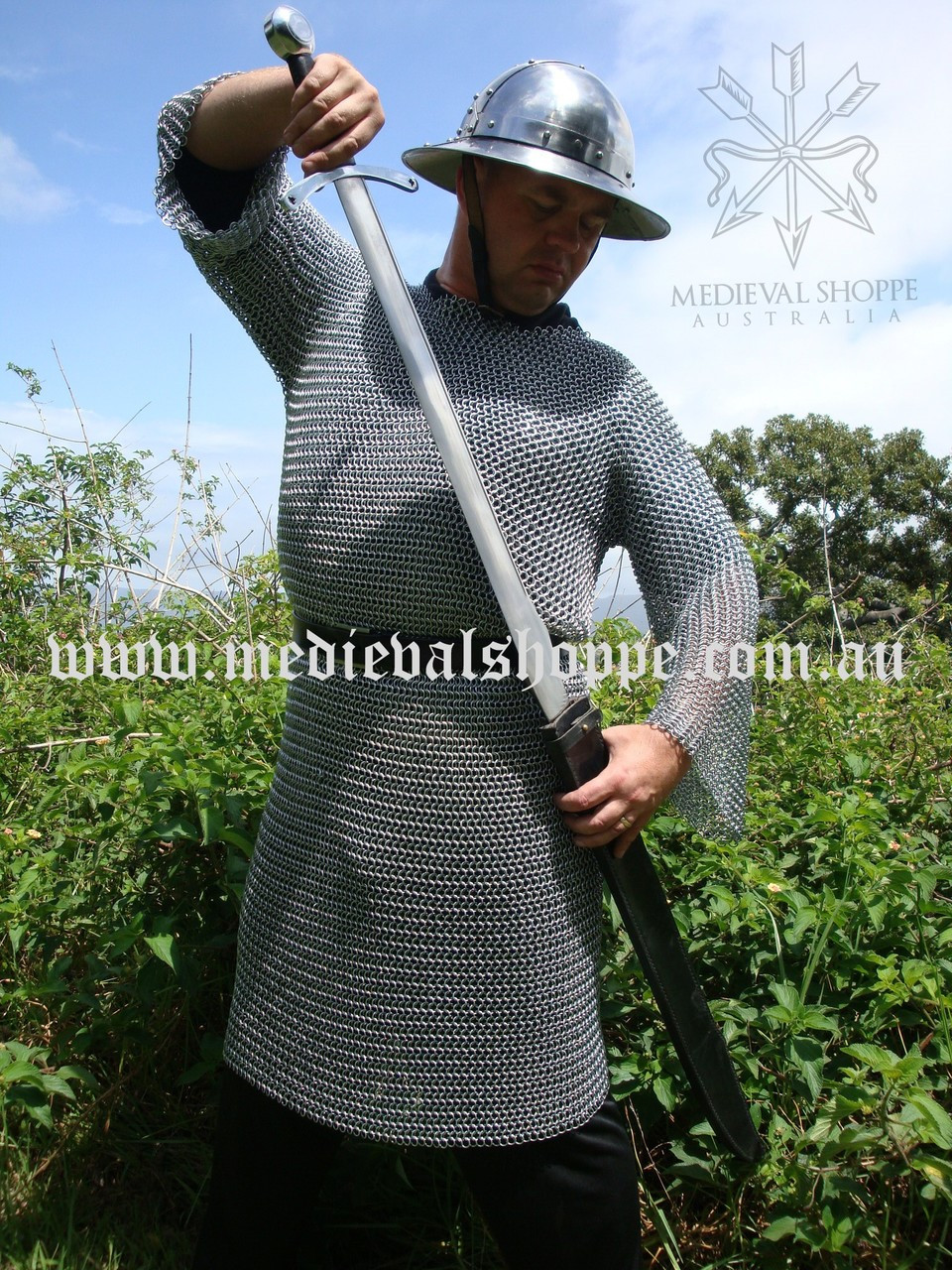 Chain Mail Shirt (Butted High Tensile Steel)