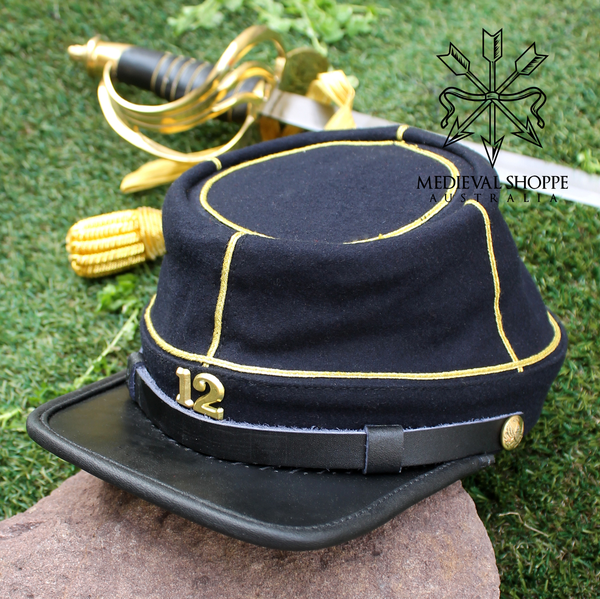 Twelth New York Militia Regiment Kepi