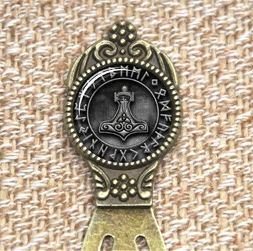 Thor's Hammer Runic Bookmark