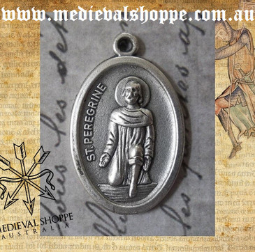 Saint Peregrine Medal (patron saint for cancer sufferers and survivors)