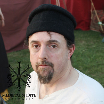 15th Century Felt Hat (Black)
