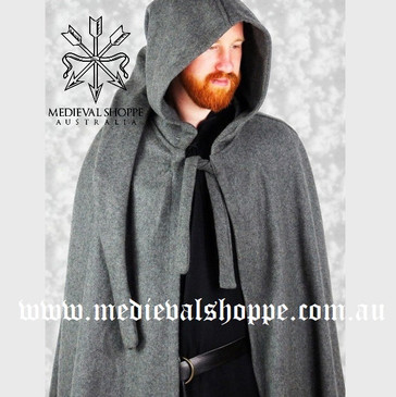 Men's Hooded Cloak (Grey)