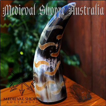 Cow Horn Paperweight