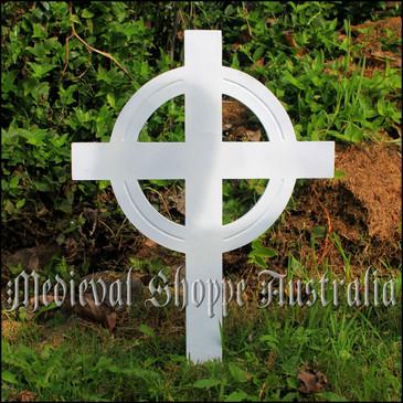 Celtic Cross (aluminium roadside memorial)
