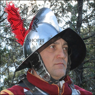 Morion With Plume