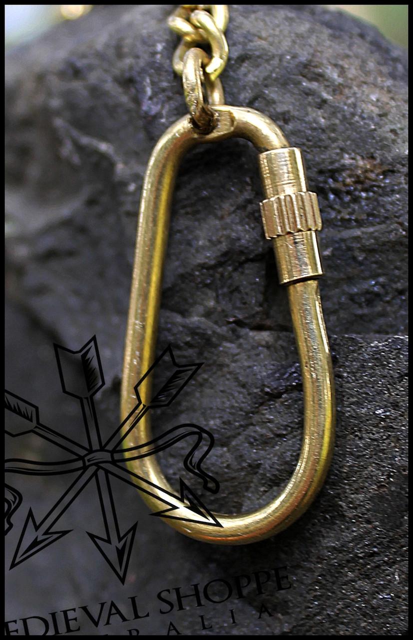Ship's Wheel Key Ring
