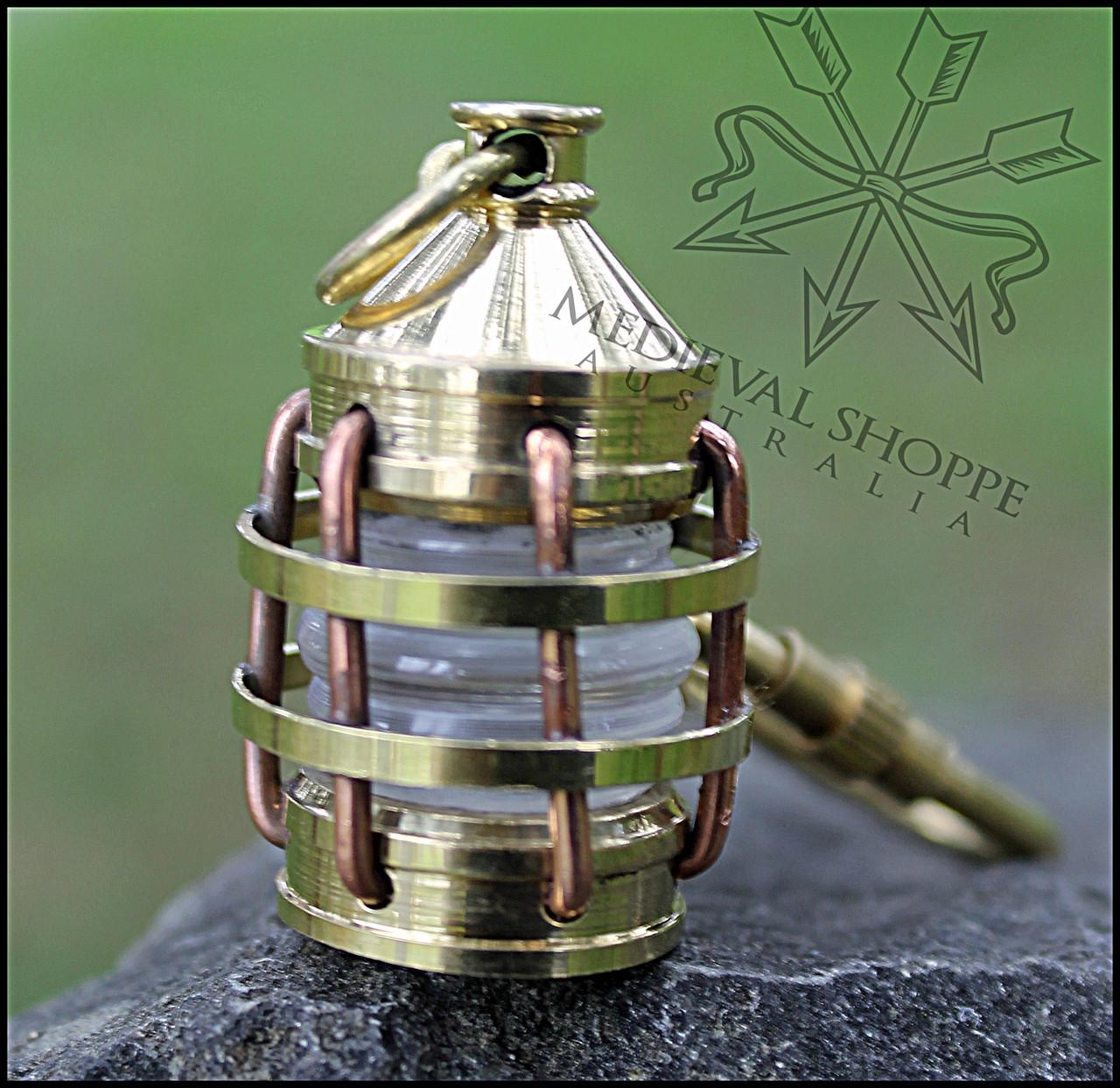 Anchor Lantern Keychain