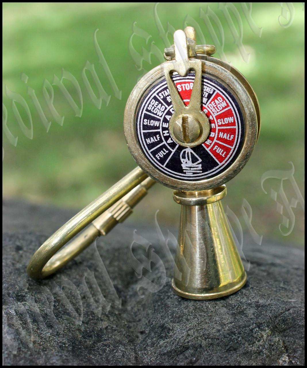 Ship's Telegraph Keychain
