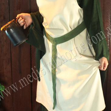 Lady's Green Medieval Belt