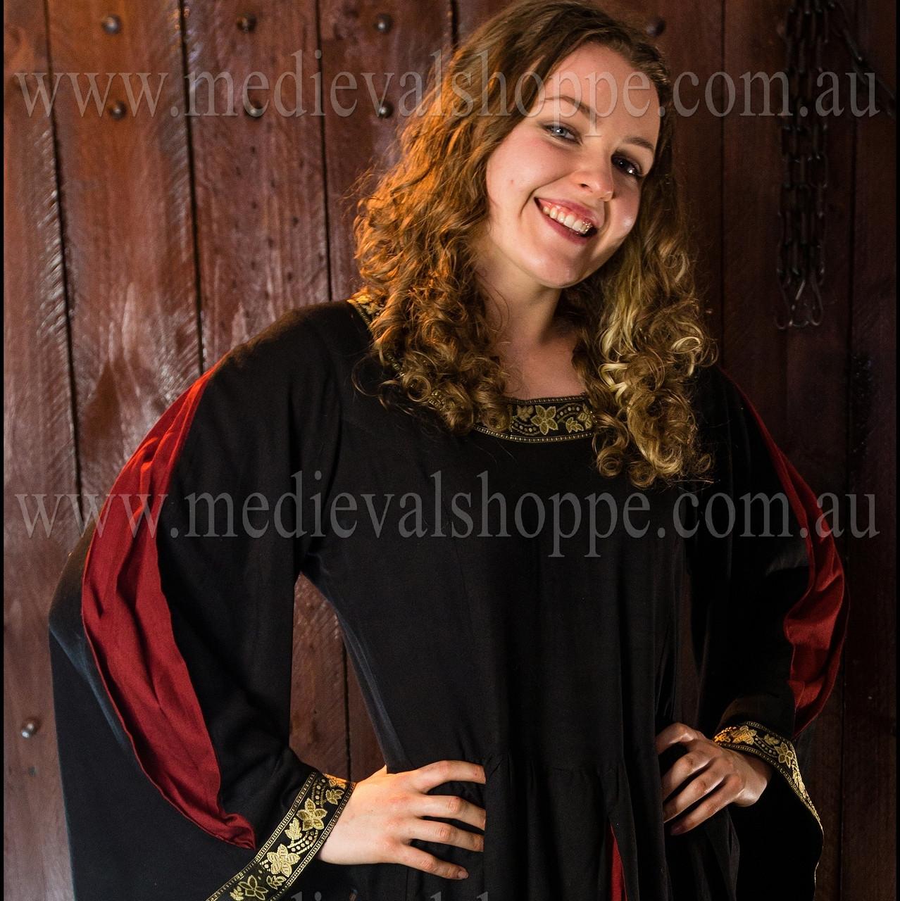 Red/Black Medieval Dress