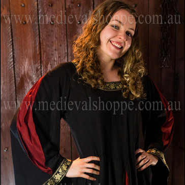 Red/Black Medieval Dress