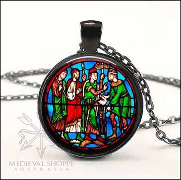 La Sainte Chappelle (Paris) Glass Dome Pendant