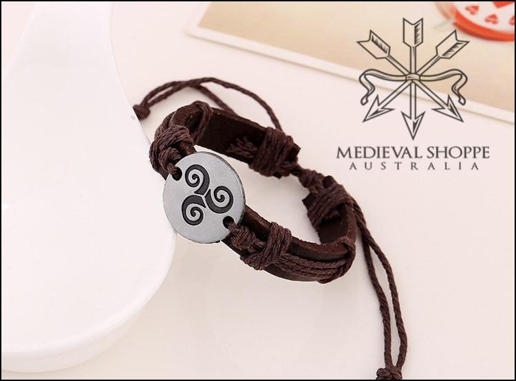 Celtic Triskelion Bracelet