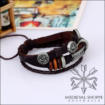 Ireland Leather Bracelet