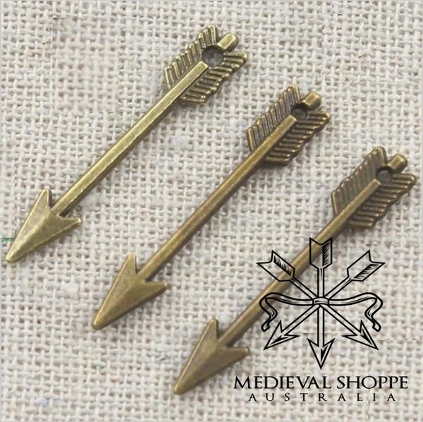Bronze Arrow Jewellery (earing/pendant/charm)