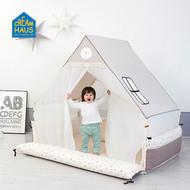 Inua Haus & Bumper Bed (Milk Brown)