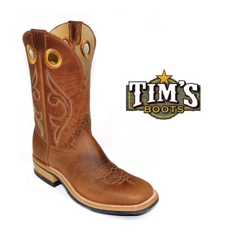 Hondo Boots Maple Crazy Horse