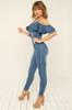 In Your Jeans Jumpsuit - Denim