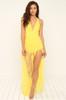 No Secrets Dress - Canary