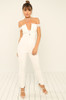 Feeling You Jumpsuit - White
