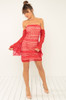 Flirt With Me Dress - Red