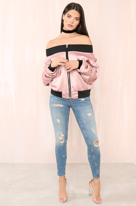 Such A Show-Off Jacket - Blush