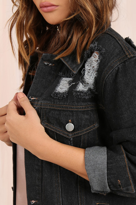 Blue Jean Baby Jacket - Dark Denim