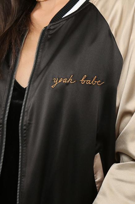 Total Babe  Jacket - Black