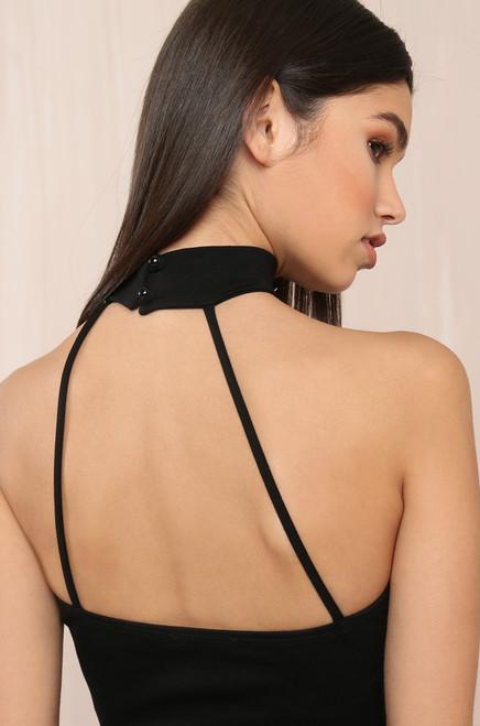 Turn It Up Dress - Black