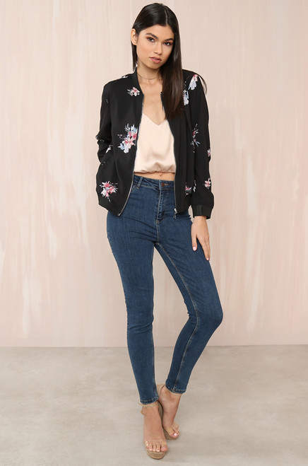 Garden Party Jacket - Floral