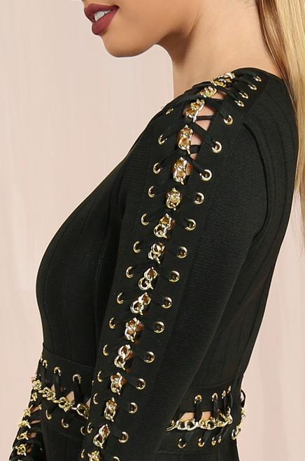 The Glitz Dress - Black