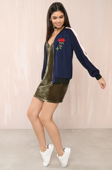 Last Rose Jacket - Navy