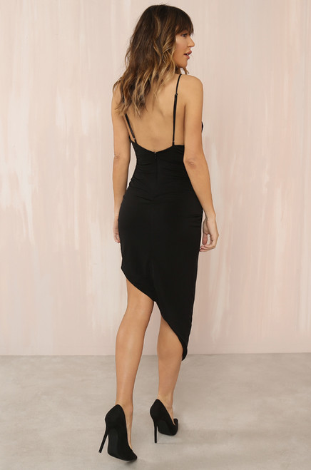 Turning Heads Dress - Black