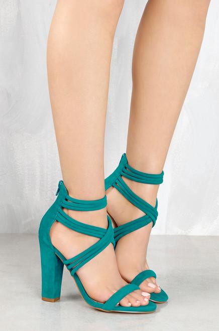 Cross Over - Turquoise