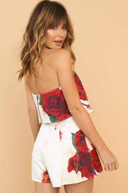 Make Your Move Romper - Floral