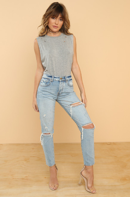 Hold Tight Jeans - Denim