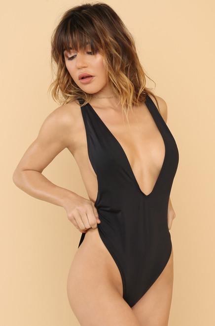 High Tide Swimsuit - Black
