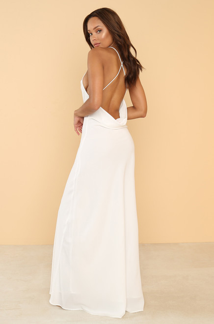 In The Moment Dress - White