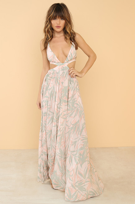 Vacay Vibe Dress - Blush