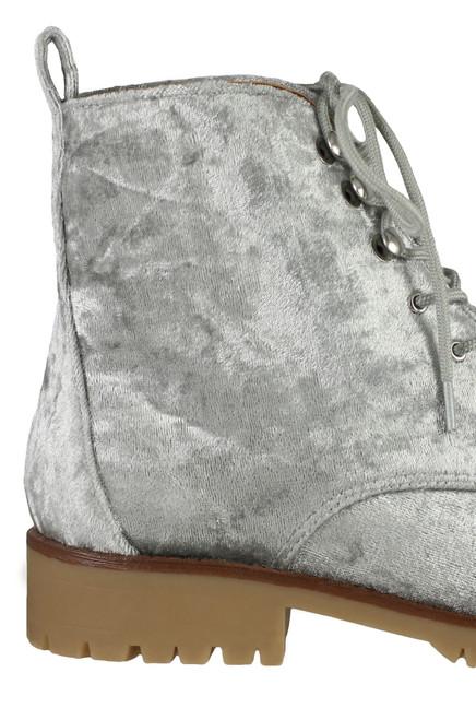 Trooper - Grey Velvet