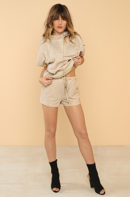 Free Style Co-ord Set - Nude