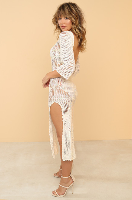 Monte Carlo Dress - Off-White