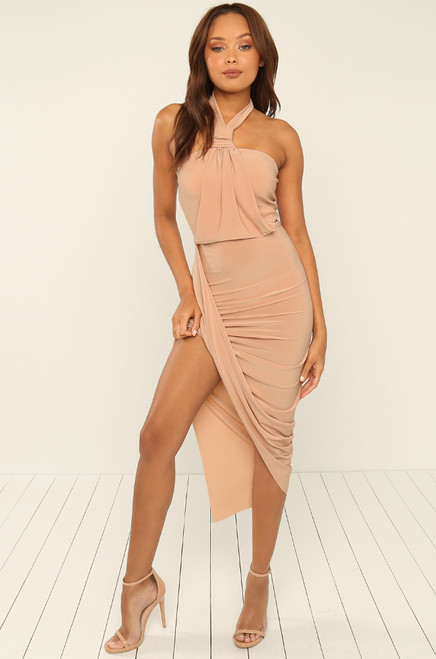 All Up On Me Dress - Blush