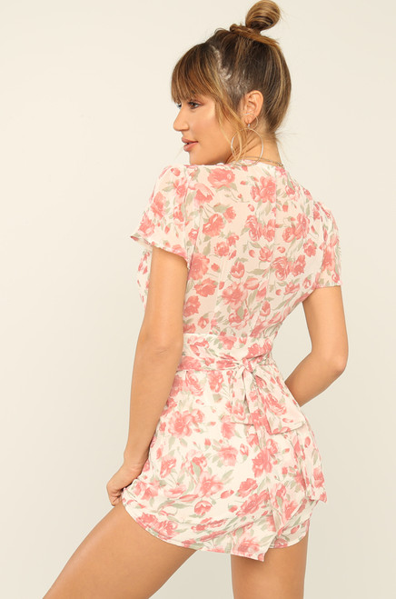 You're Blossom Romper - Floral