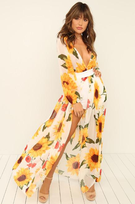 My Sunshine Dress - Floral
