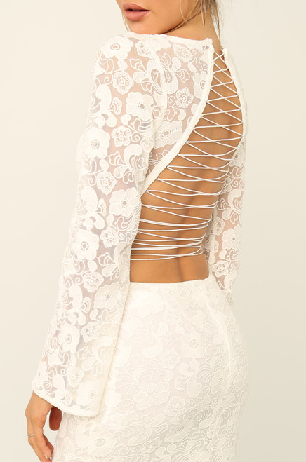 Have It All Dress - White