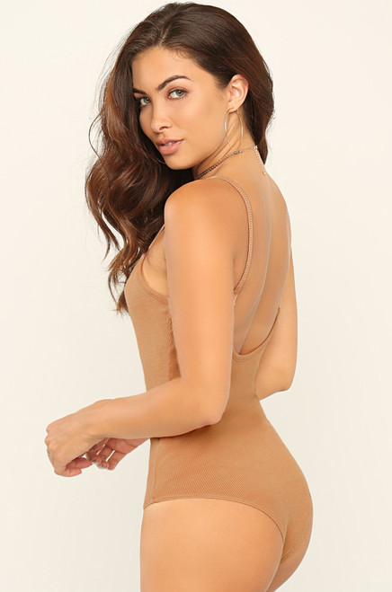 All Body Bodysuit - Nude
